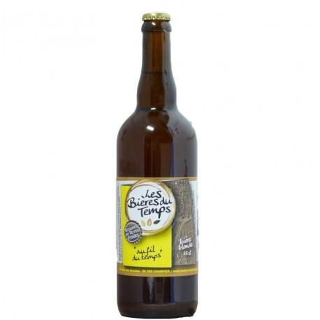 Bière Blonde Artisanale Bio | Au Fil Du Temps | Les Bières Du Temps - 75cl