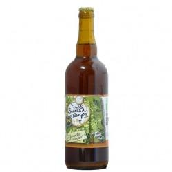 Bière Dorée Artisanale Bio | Tempête Amer | Les Bières Du Temps - 75cl