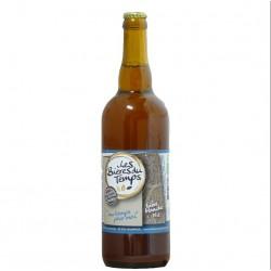 Bière Blanche Artisanale Bio | Au Temps Pour Moi | Les Bières Du Temps - 75cl
