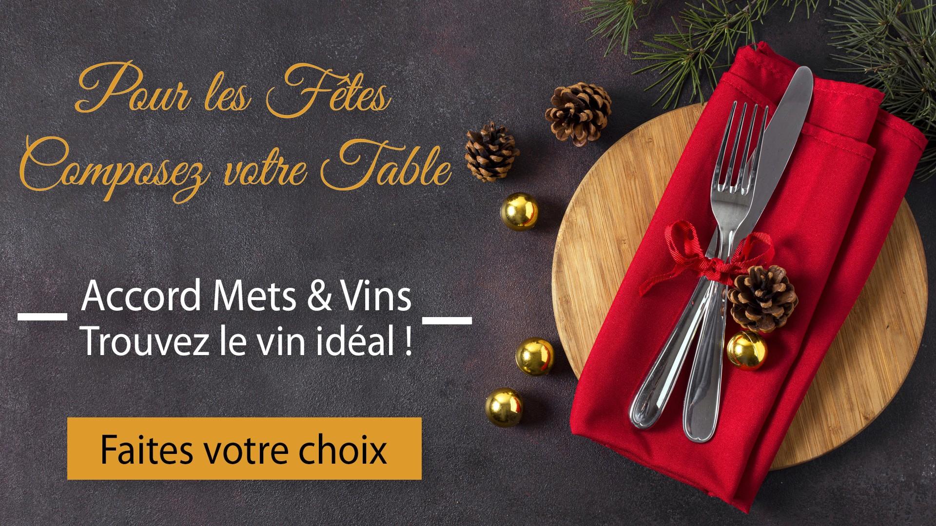 Découvrez notre sélection de vin par type de plat, pour vous aider à choisir